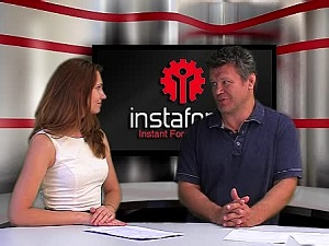 InstaForex tv events. Червень, 2013 р. - думка експерта, InstaTV Studio