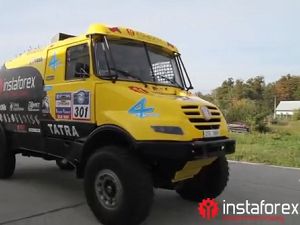 InstaForex tv events. Januari 2012, Dakar Rally 2012, Mar del Plata