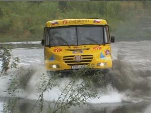 InstaForex tv events. Tháng 10 năm 2011, giới thiệu xe tải nâng cấp cho Cuộc đua Dakar Rally 2012, Rožnov pod Radhoštěm