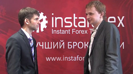 InstaForex tv interview. Denis, exhibition