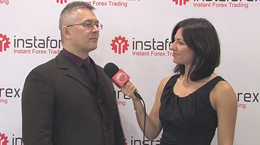 InstaForex tv interview. Artur Uryupin, ana