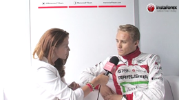 InstaForex tv interview. Max Chilton, Marus