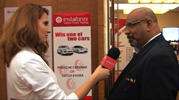 InstaForex tv interview. Dr. Rakesh S. Raja