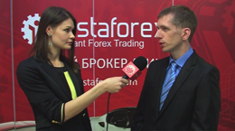 InstaForex tv interview. Sergey Kovalenko,