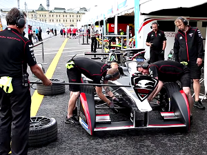 InstaForex tv events. Jun 2015. godine, Formula E, Moskva ePrix
