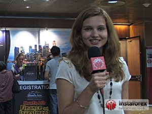 InstaForex tv events. Februar 2012. godine, ShowFx World, Singapur